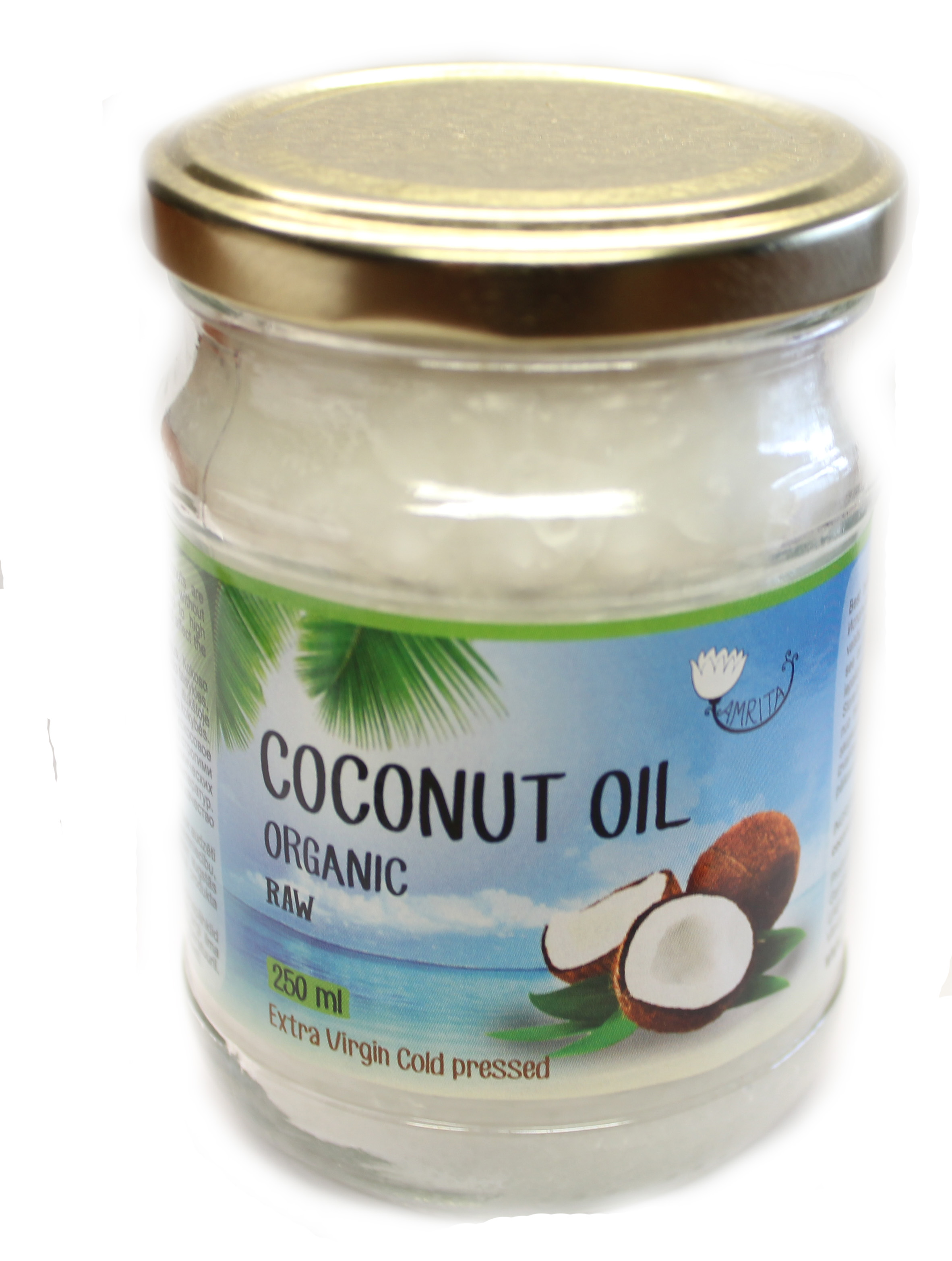 Organic Coconut Oil Extra Virgin (250ml)