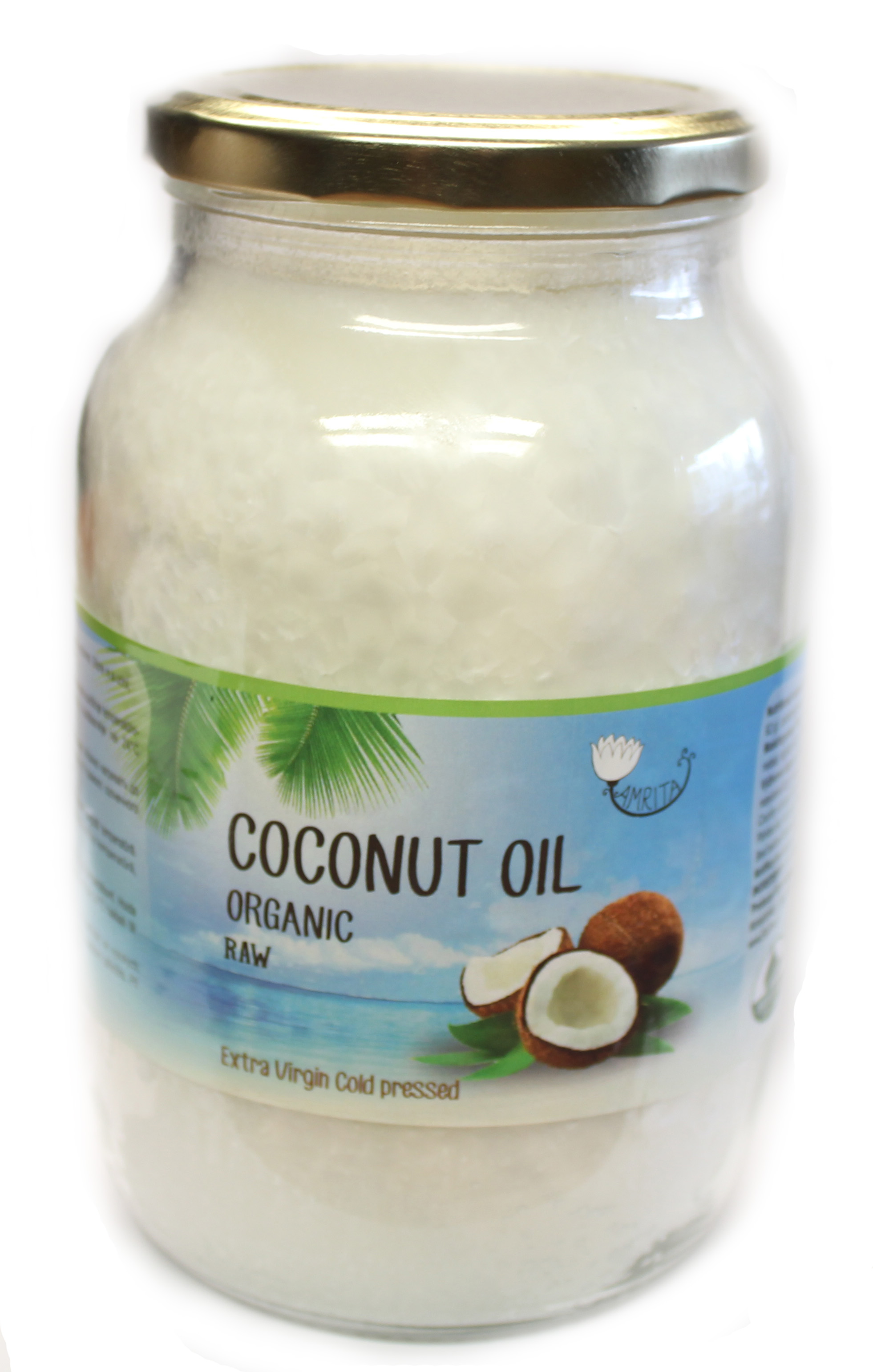 Organic Coconut Oil Extra Virgin (1L)