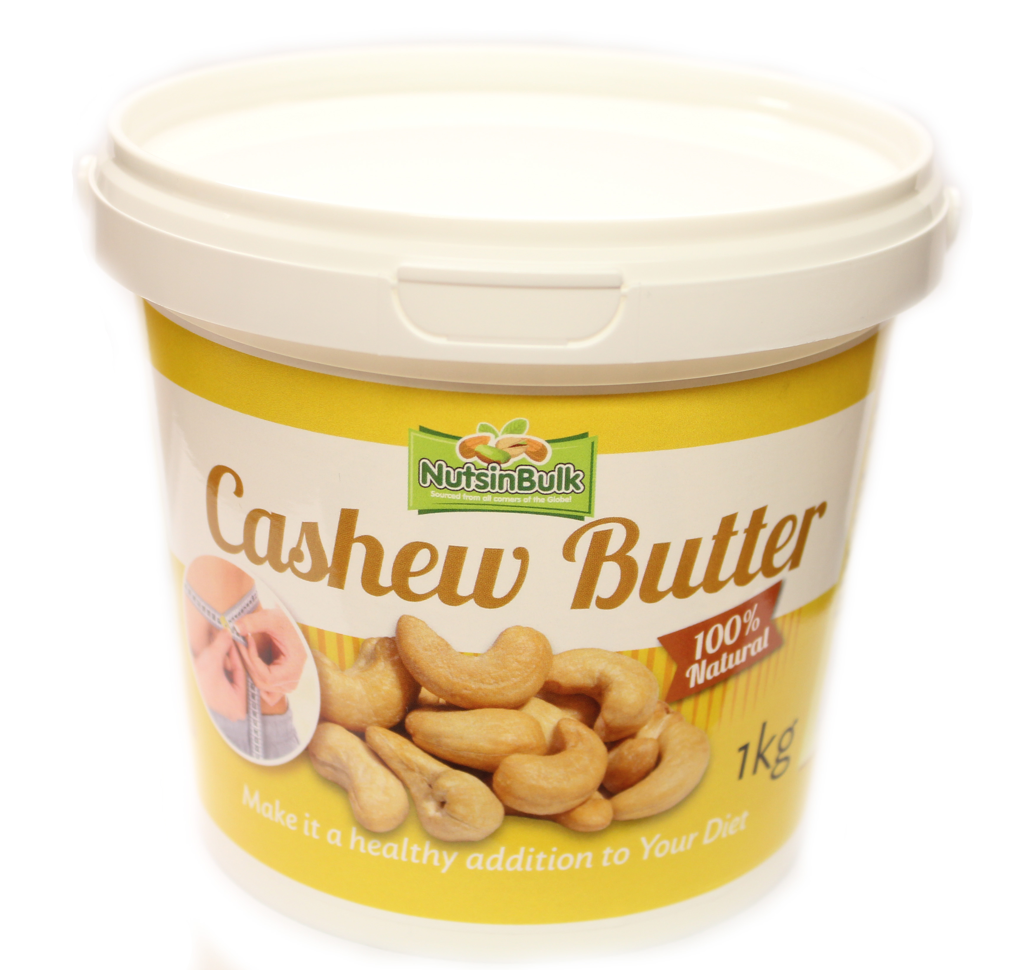 Nuts in Bulk - Cashew Butter (100% Nuts) Nuts in Bulk