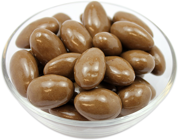Almonds Coated in Milk Chocolate