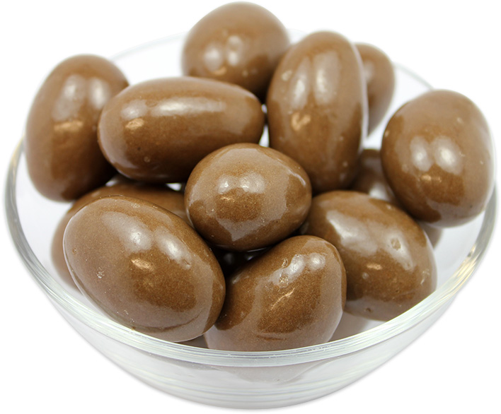 Brazil Nuts Coated in Milk Chocolate