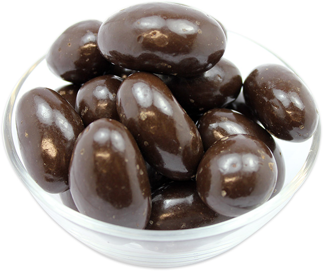 Brazil Nuts Coated in Dark Chocolate