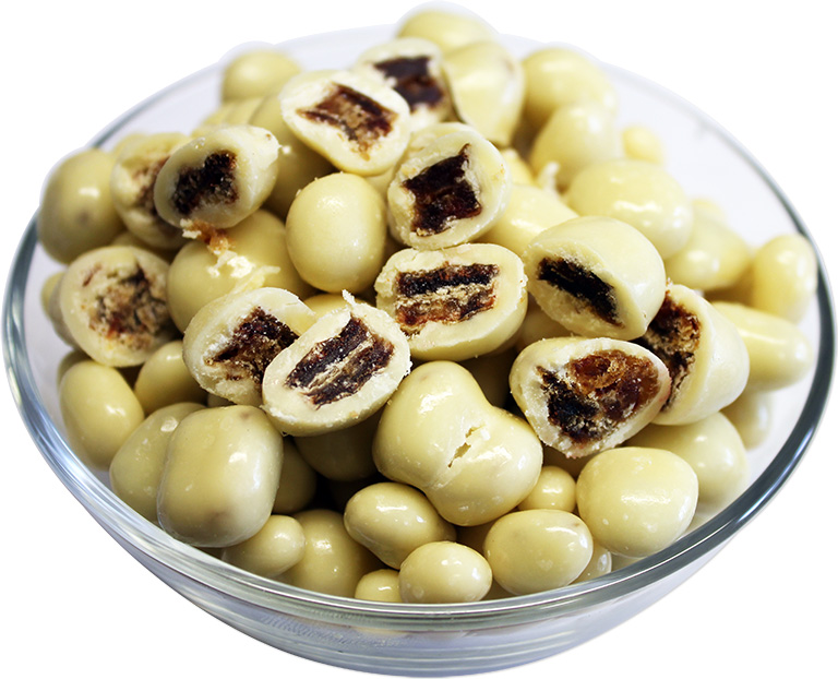 Yoghurt Covered Chopped Dates