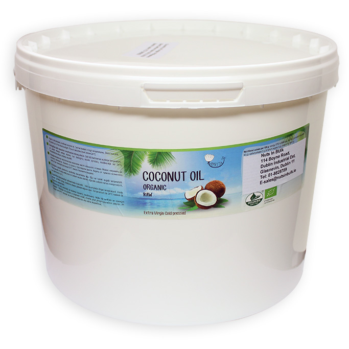 Organic Coconut Oil (Extra Virgin), Bulk Size