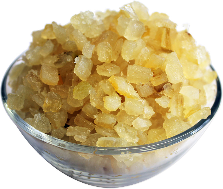 Candied Lemon Peel Diced
