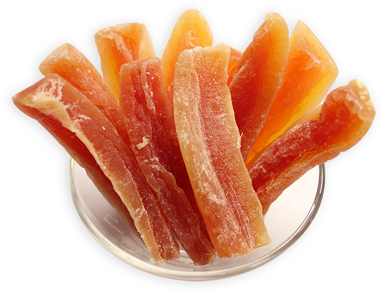 Dried Papaya Strips