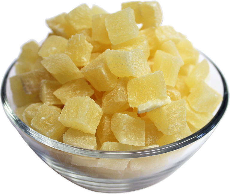 Dried Diced Pineapple