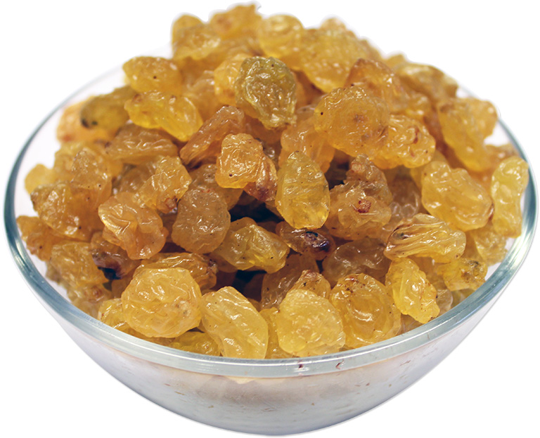 Golden Raisins Bold