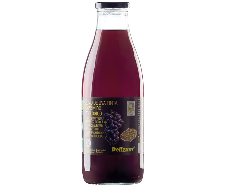 Organic Squeezed Red Grape Juice