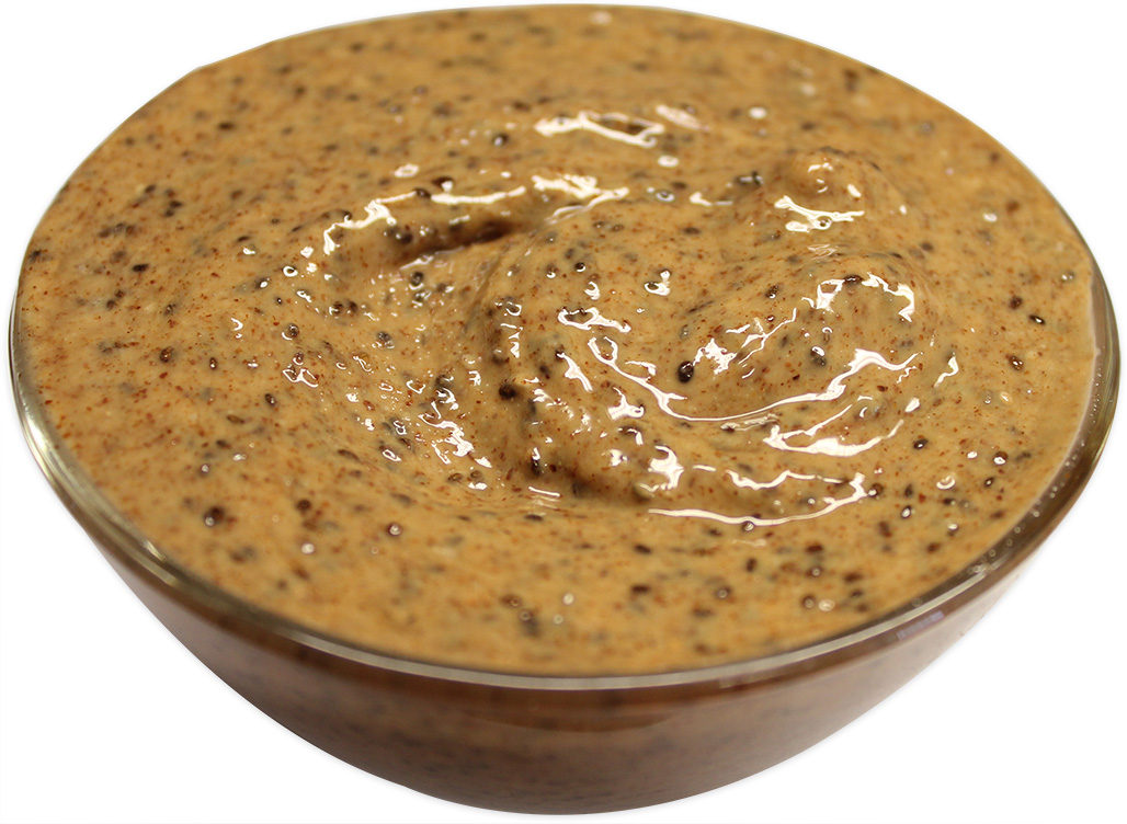 Almonds Butter with Chia Seeds