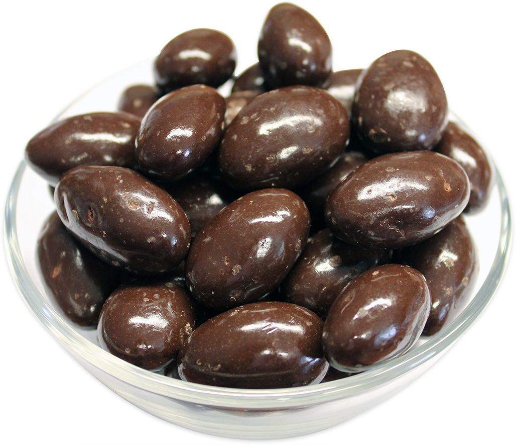 Almonds Coated in Dark Chocolate