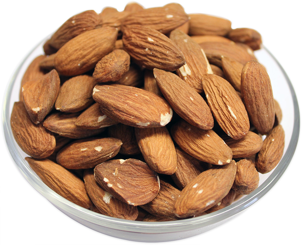 Roasted Almonds (Whole, Unsalted)