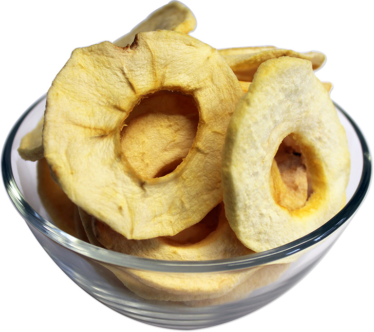 Natural Dried Apple Slices