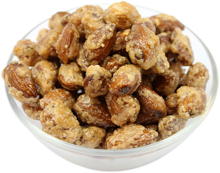 Roasted Almonds with Honey