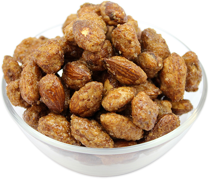 Roasted Almonds with Honey & Cinnamon
