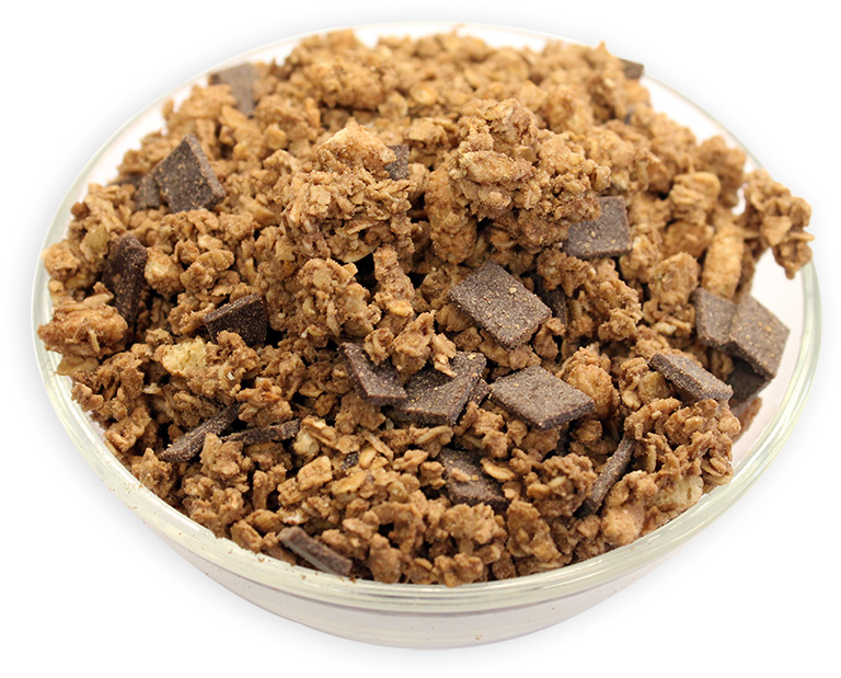 Cocoa Crunchy Granola Oats with Dark Chocolate