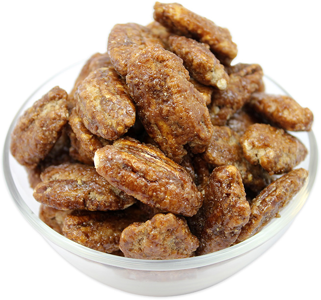 Roasted Pecans with Honey (Halves)