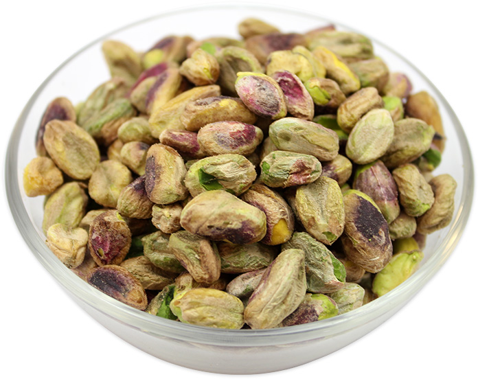 Pistachios Kernels (Shelled, Skin on)
