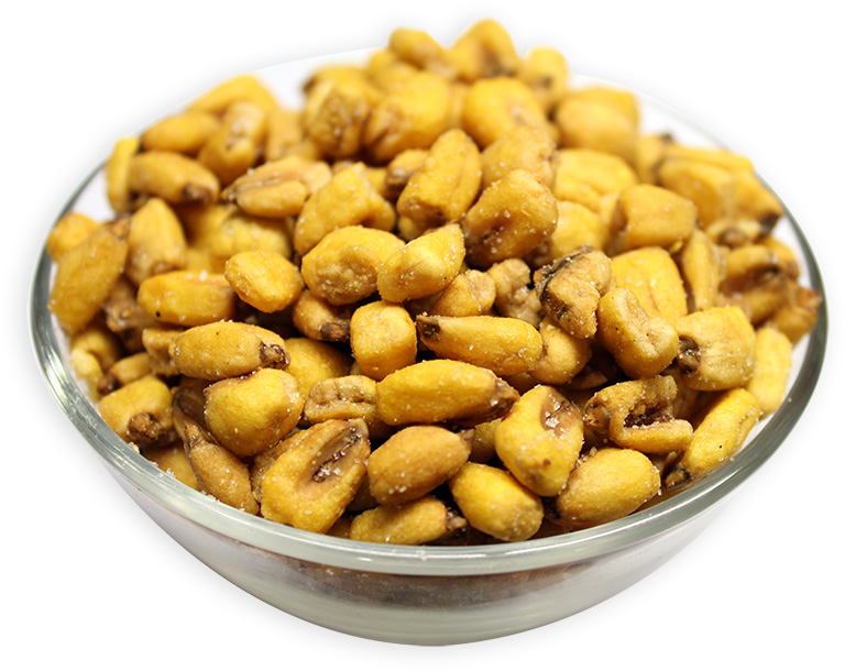 Roasted Corn Seeds with BBQ