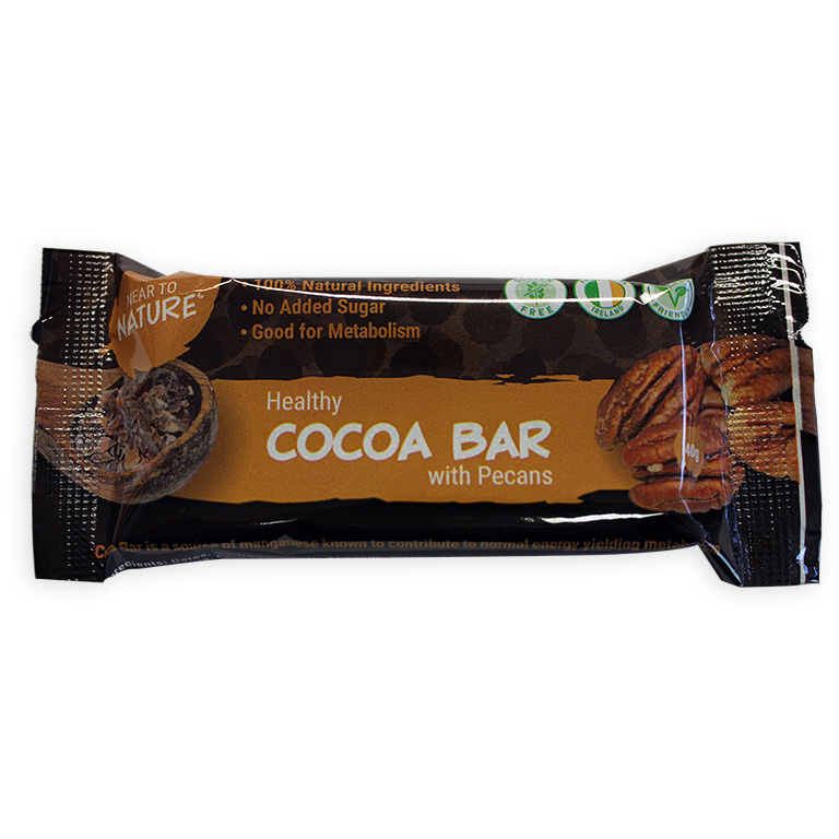 Cocoa Bar with Pecans