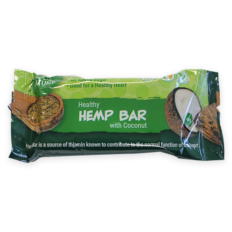 Hemp Bar with Coconut