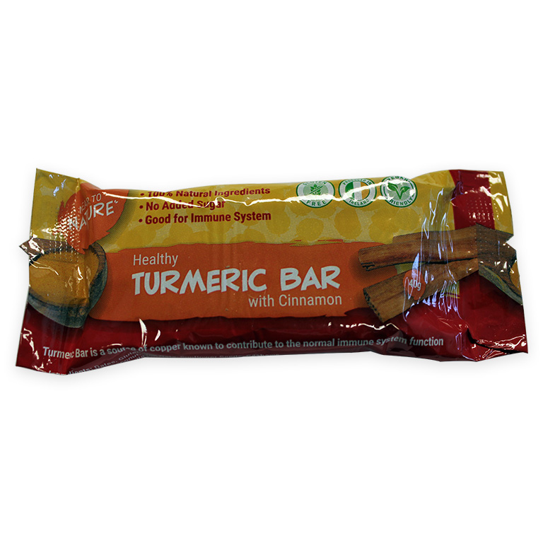 Turmeric Bar with Cinnamon